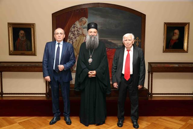 Патријарх Порфирије и министар Кркобабић – заједно за спас села Србије!