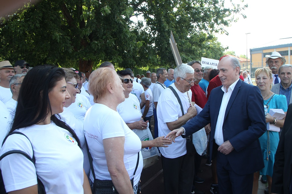 Кркобабић отворио Олимпијаду трећег доба у Нишу